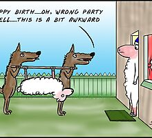 Wrong party! by David Stuart