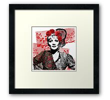The Devil is a Woman Framed Print