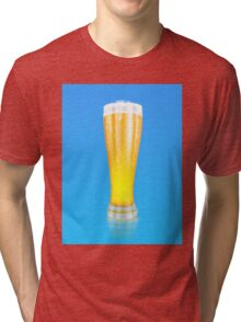 Glass of beer 2 Tri-blend T-Shirt