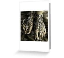 Footology Greeting Card