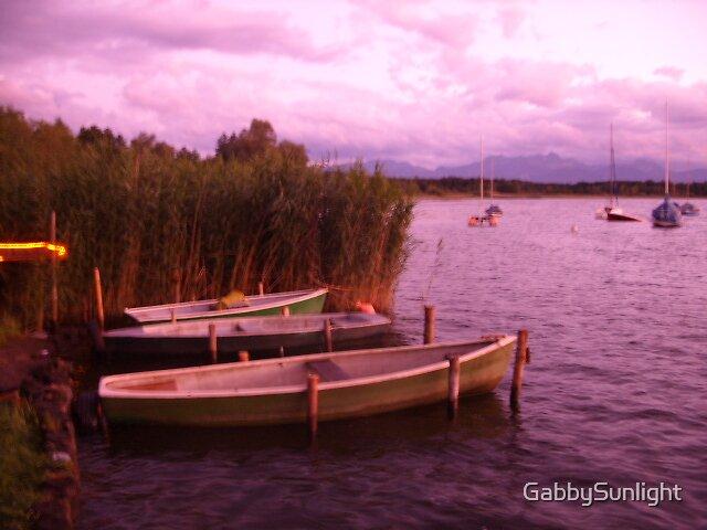 Boats by GabbySunlight