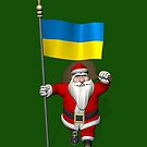 Santa Claus With Flag Of Ukraine by Mythos57