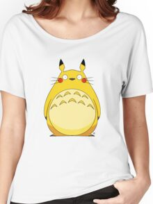 Totoro Pikachu Women's Relaxed Fit T-Shirt