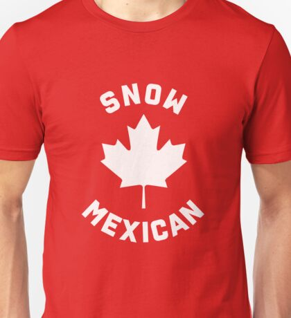 Snow Mexican Unisex T-Shirt
