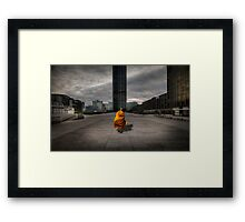 A Monk in Montparnasse Framed Print
