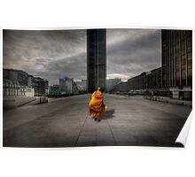 A Monk in Montparnasse Poster