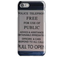 Public Phone Box  iPhone Case/Skin