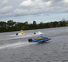 Racing on the Manning River Taree Australia by Heabar