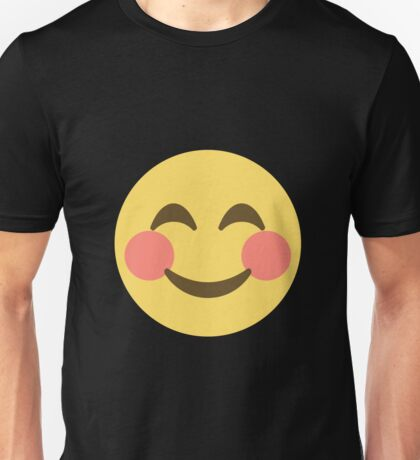 Smile Emoji Happy Face Unisex T-Shirt