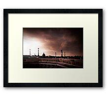 Paris in the wind Framed Print