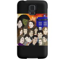 A time lords family Samsung Galaxy Case/Skin
