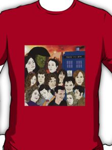 A time lords family T-Shirt