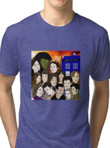 A time lords family Tri-blend T-Shirt