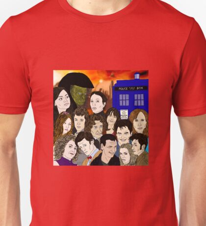 A time lords family Unisex T-Shirt