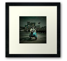Vespa in Bangkok Framed Print