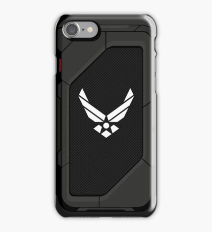 Air Force high tech shell iPhone Case/Skin
