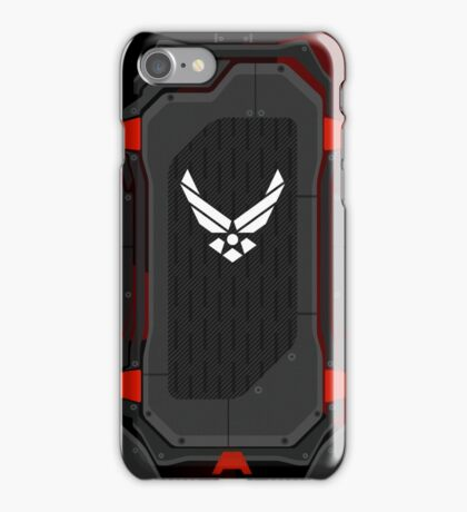 Black Ops Air Force shell iPhone Case/Skin