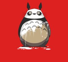 Totoro Painting Panda One Piece - Short Sleeve
