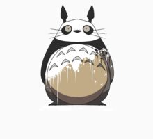 Totoro Painting Panda One Piece - Short Sleeve