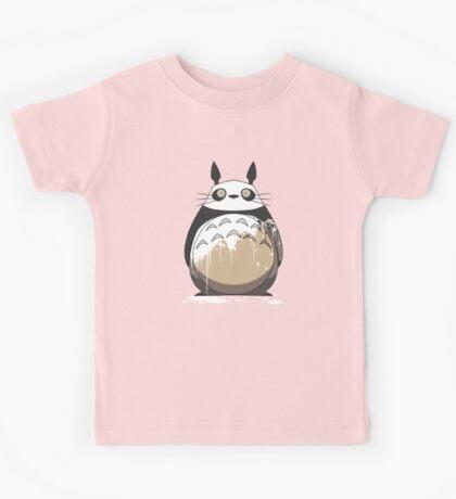 Totoro Painting Panda Kids Tee
