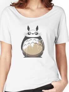 Totoro Painting Panda Women's Relaxed Fit T-Shirt