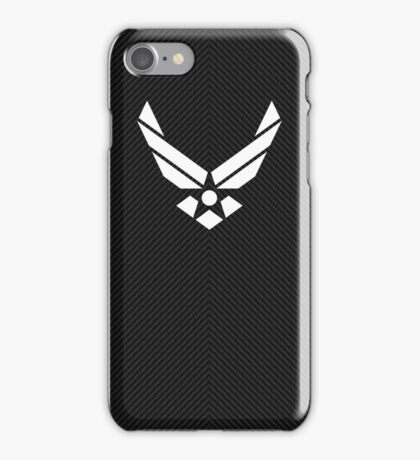 Air Force carbon fiber shell iPhone Case/Skin