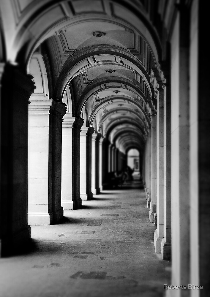 Colonnade at the GPO by Roberts Birze