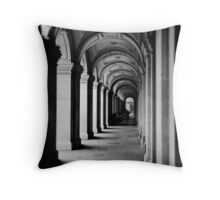 Colonnade at the GPO Throw Pillow