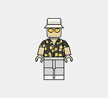 Raoul Duke Lego Man by DanielDevoy
