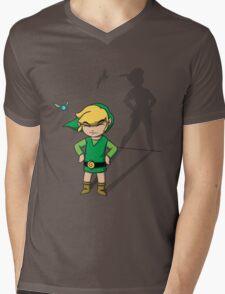 Forever Young Mens V-Neck T-Shirt