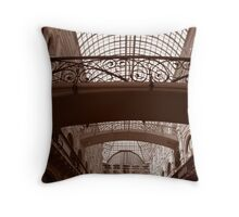 GUM red square Moscow Throw Pillow