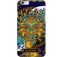 Free Your Mind: Multicultural Buddha  iPhone Case/Skin