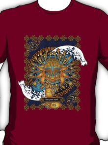 Free Your Mind: Multicultural Buddha  T-Shirt