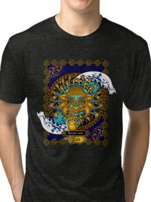Free Your Mind: Multicultural Buddha  Tri-blend T-Shirt