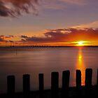 Sunset Schouwen. by Adri  Padmos