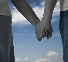 Couple Holding hands  by samc352