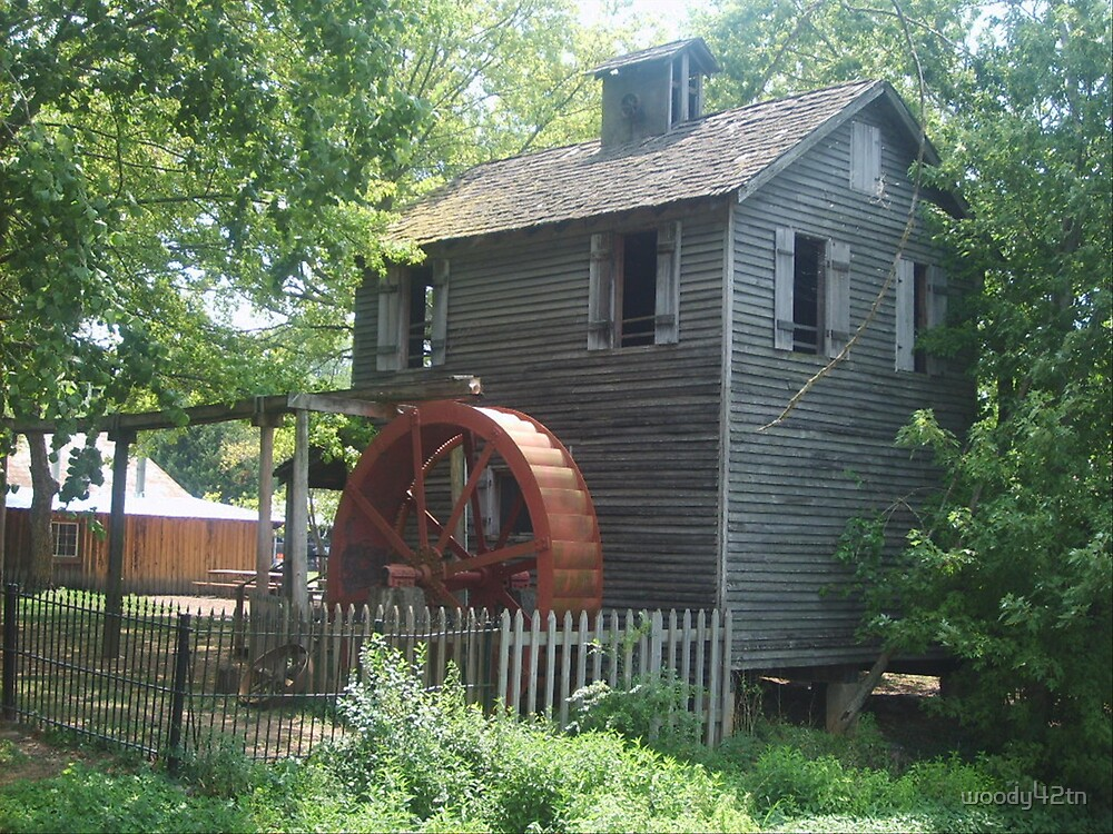 Old Mill by woody42tn