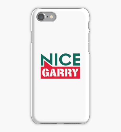 Niiice Gary | Bunnings Warehouse iPhone Case/Skin