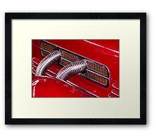 SUPER RED Framed Print