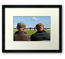 Old Boys Framed Print
