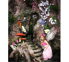 A visit to Edmund Elf! Photographic Print