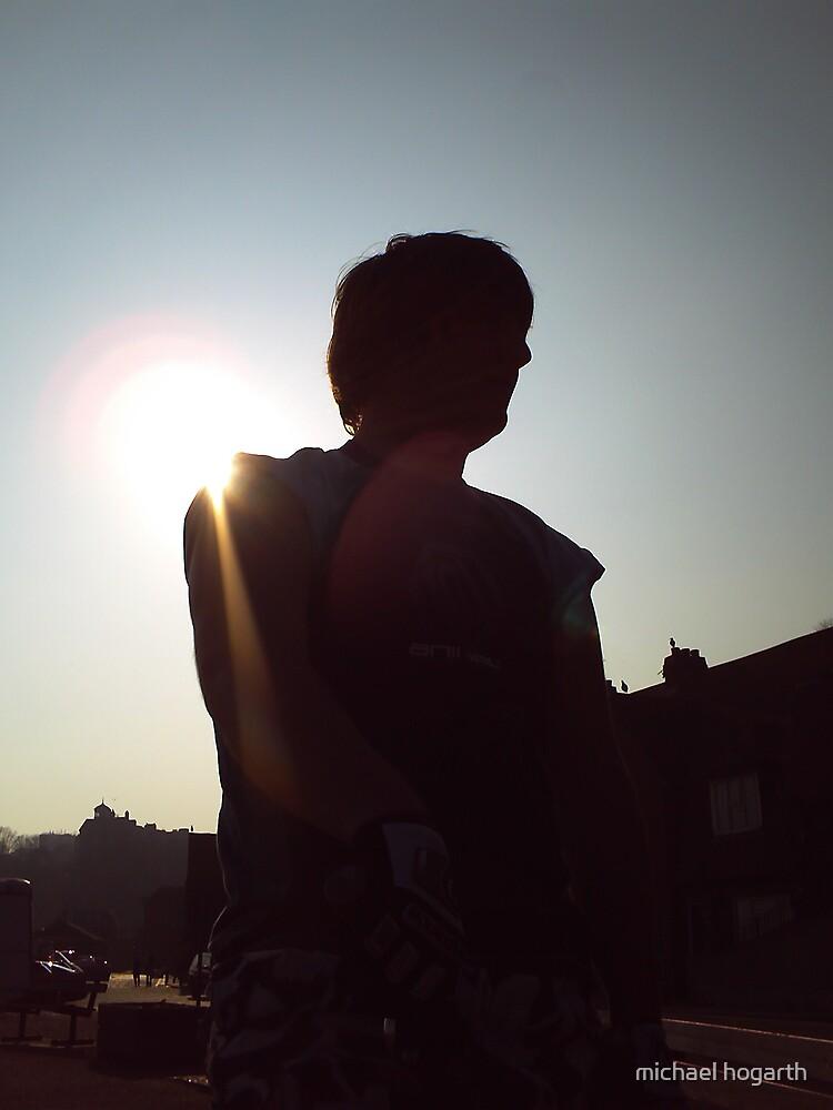 dark biker by michael hogarth
