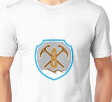 Mountain Climbing Mountaineering Pick Axe Rope Unisex T-Shirt