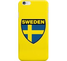 Sweden Flag and Shield iPhone Case/Skin