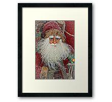 Jolly Olde Saint Nicholas Framed Print