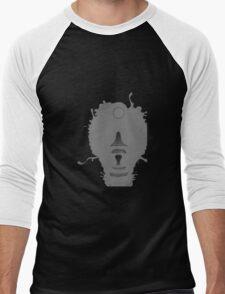 Glitch esquibeth giant grendaline grayscale 01b Men's Baseball ¾ T-Shirt