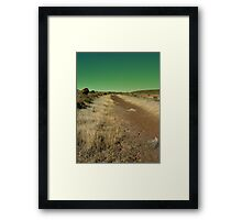 Road to Damascus Framed Print