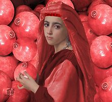 ๑۩۞۩๑THE LOVE OF POMEGRANATE GIRL HOLDING POMEGRANATE ๑۩۞۩๑ by ✿✿ Bonita ✿✿ ђєℓℓσ
