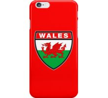 Wales Flag and Shield iPhone Case/Skin