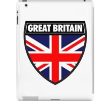 Great Britain Flag and Shield  iPad Case/Skin